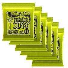 Ernie Ball Regular Slinky Electric Guitar Strings (10-46) 6 Peavey Plectrums
