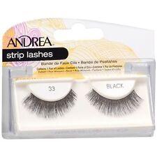 12 Pairs Andrea Modlash 33 False Eyelashes Strip Lashes Black 23310