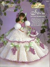 Silva of Sacramento Ladies of Fashion Crochet Gown Pattern for Barbie Dolls NEW