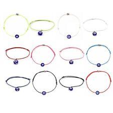 1pc Fashion String Turkish Evil Eye Bracelets Multi-Color Rope Adjustable Chain