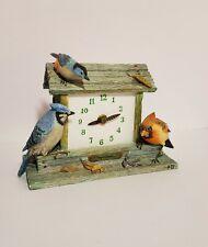 Marjolein Bastin Hallmark Nature's Sketchbook Bird Feeder Clock