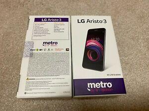 LG Aristo 3 LM-X220MA - 16GB - Platinum Gray (Metro PCS) UNLOCKED Smartphone