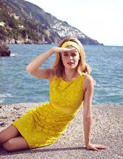 BODEN Yellow Lace Summer DRESS Sleeveless Women's WH436 10P  NEW  $199