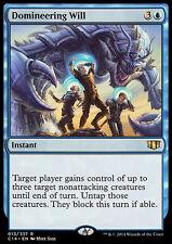 DOMINEERING WILL NM mtg Commander 2014 Blue - Instant Rare