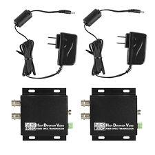 HD SDI to FC Fiber Optic Converter Media Extender Transmitter Receiver Loop 485