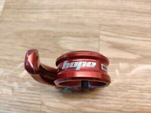 Hope Quick Release QR Seat Clamp 30mm Bike Red