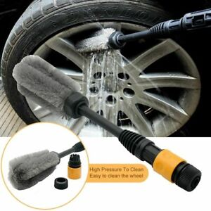 Car Wheel Cleaning Brush Tire Washing Clean Tyre Bristle Cleaner  Auto Care Tool
