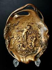 FRAINIER EDIT Bronze Art Nouveau Jugendstil Coupe Vide Poche