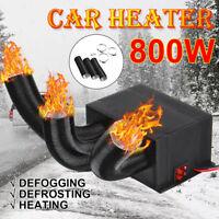 800W 12V 24V 3-Hole Auto Car Heater Heat Cooling Fan Vehicle Defroster Demister