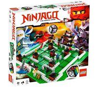 LEGO Games NinjaGo board game 3856 (RETIRED) BRAND NEW FACTORY SEALED