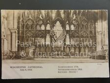 Winchester Cathedral July 4th 1918 USA/UK Independence 1776 Interdependence 1918