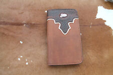 Western Cell Phone Cover Iphone 5C Leather Cowboy Case Protect Two Tone