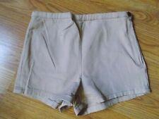 Forever 21 High Rise Tan Pin up Women shorts sz M EUC