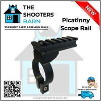 Picatinny Rifle Accessory Scope Rail Mount Clamp , FlashLight Camera Lazer New