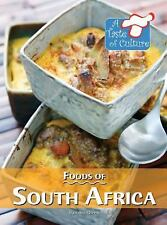 Foods of South Africa (Taste of Culture)-ExLibrary