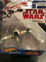 Hot Wheels Star Wars Poe's Ski Speeder With Stand Starships 2017 Disney