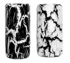 Set: Crackle Nagellack schwarz und weiß. Je 4,5ml . Reissender Nagellack