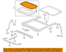HONDA OEM Sunroof Sun Roof-Weatherstrip Seal 70205T2AA01