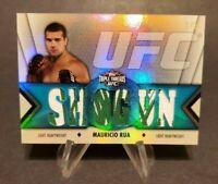2013 Topps UFC Knockout Triple Threads Relics Sapphire #TTR-MR1 Mauricio Rua 1/3