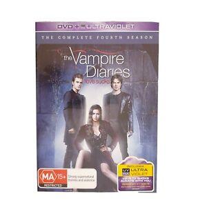 The Vampire Diaries Season 4 DVD Region 4 AUS TV Series - Drama