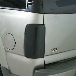2-Piece Smoke Tail Light Covers for 1989 - 1995 Toyota Pickup