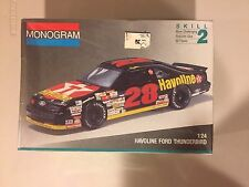 Davey Allison 28 Havoline Texaco 1991 Ford T Bird Thunderbird Monogram Model Kit