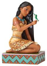 Disney Traditions Free & Fierce Ornament Pocahontas & Flit Resin Figurine Gift