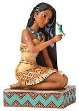Disney Traditions Free & Fierce Ornament Pocahontas & Flit Resin Figurine Gift
