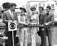 CLINT EASTWOOD, TINA LOUISE, ROBERT CONRAD & OTHERS 1965 - 8X10 PHOTO (EP-278)