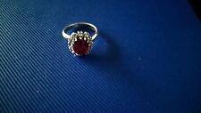 Swarovski Steine Neugablonz Ring Gr.51/52, B.E Cook London ,Vintage