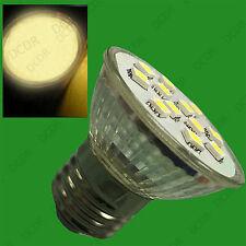 10x 3W es E27 Epistar SMD 5050 LED Spot Luz 2700K Bombillas Lámparas Blanco Cálido