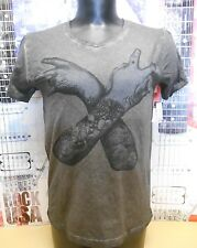 NEW BLACK EAST COAST WEST COAST HAND SIGN T-SHIRT TIE DYE CUSTOM TEE