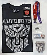 Botcon 2014 Transformers Universal Studios Fan Experience Badge Lanyard