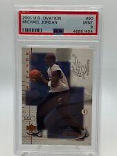 Michael Jordan Washington Wizards 2001 Upper Deck Ovations #90 PSA 9 Mint