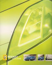 Renault Megane 5-dr & Sport Hatch 2005-06 UK Market Sales Brochure