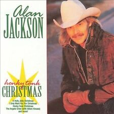 Honky Tonk Christmas by Alan Jackson (CD, Dec-1993, Arista) DISC ONLY #50B