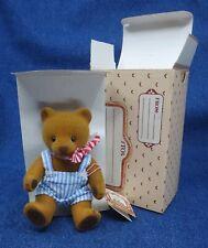 1983 EMOTIONS flocked cute MATTEL TEDDY 'N ME bear SEKIGUCHI Best Friends