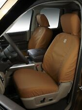Covercraft SSC2477CABN Carhartt Brown Front Seat Covers 14-16 Chevy GMC 1500 HD