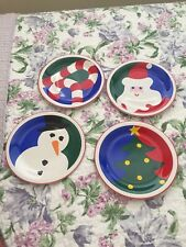 May Co Christmas appetizer Dishes Set Of 4 X 2