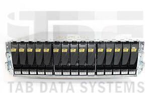 EMC Data Domain ES30 Expansion Shelf w/ 15x X-ES30-2TB 2TB 7.2K SATA HDD Drives