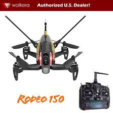 Walkera Rodeo 150 RTF FPV RC Quadcopter Race Drone w DEVO 7, 600 TVL Cam (Black)