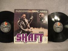 Shaft, Soundtrack, Isaac Hayes, Enterprise Records ENS 2-5002, 1971, 2 LPs, GATE
