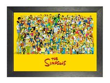 The Simpsons Characters Poster Cartoon Animation Photo Children Kids Family