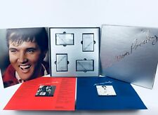 Elvis Presley 25th Anniversary Limited Edition #S00898 4 Cassettes Complete Box