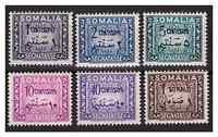 SOMALIA AFIS 1950 - SEGNATASSE Serie completa nuova **