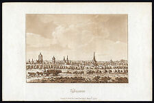 Antique Print-VALENCIENNES-STAGECOACH-CITY-FRANCE--Ireland-1790