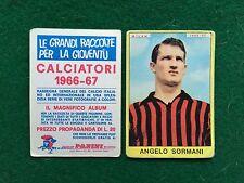 CALCIATORI 1966/67 66/1967 MILAN Angelo SORMANI Figurina Sticker Panini (NEW) b