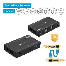 gofanco Pro HDBaseT HDMI 2.0 Extender w/ USB 2.0 Extension 100m  (PRO-HDbaseT-U)