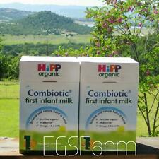 2 Boxes HIPP Organic Combiotic First Infant Milk-Stage 1 UK Version  800 G