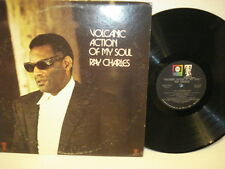 Ray Charles Volcanic Action of My Soul - LP Record Stereo